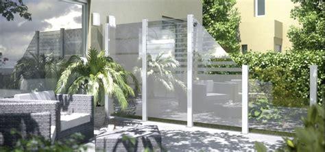 sichtschutz garten glas sichtschutz garten glas garten und bauen