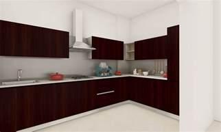 kitchen design l shape buy modern sleek l shaped kitchen in india