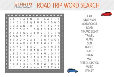 printable road trip word search 5 free kids road trip games download print out now