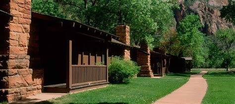zion national park cabin rentals zion lodge accommodations cabins hotel suites zion