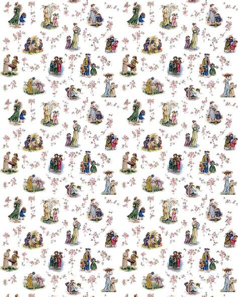 printable dolls house nursery wallpaper download dollhouse wallpaper vintage children 02