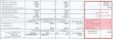taxe d habitation pour garage calcul de la taxe d habitation