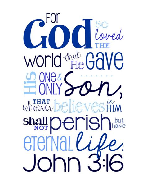 for god so loved the world items similar to 3 16 bible verse for god so