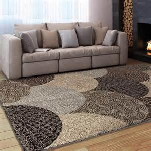 Deals On Area Rugs Carolina Weavers Comfy And Cozy Grand Comfort Collection Austral Multi Shag Area Rug By Carolina