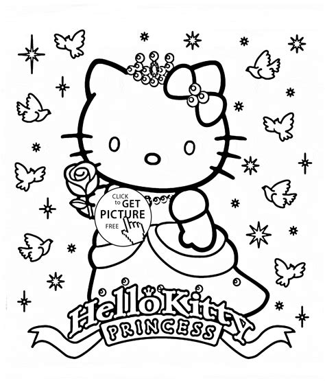 Coloring Pages Hello Princess finest pictures hello princess coloring page in