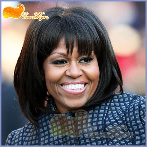 michele no wig free shipping michelle obama hairdo short wig lace front