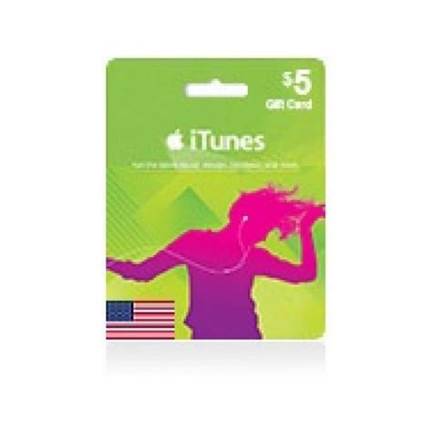 Itunes Gift Cards 5 - itunes 5 gift card