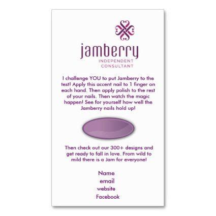 nails fashionista jamberry sle card business card