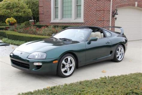 98 toyota supra for sale purchase used 98 toyota supra turbo 1 of 24