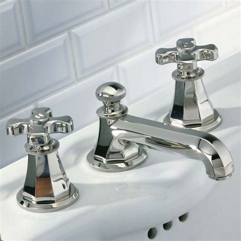 Deco Faucets by A54 151 Thg Traditional Deco Widespread Faucet