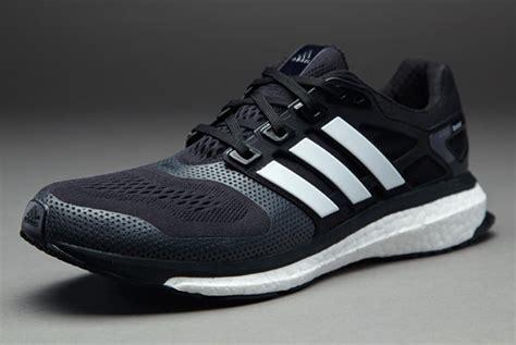 sepatu lari adidas energy boost 2 esm black white
