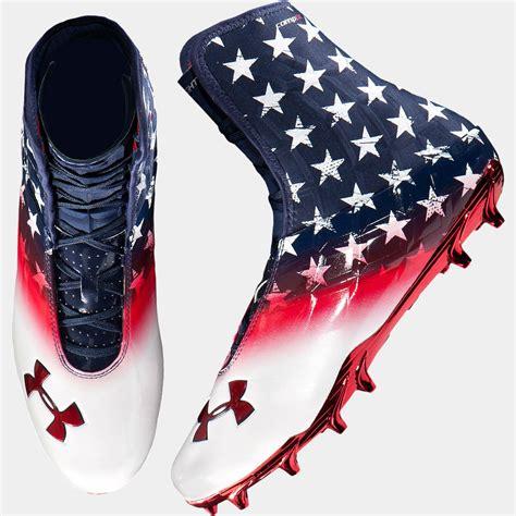 warrior football shoes armour highlight wounded warrior project available