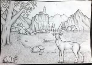 pictures of scenery of nature to draw pictures of nnature