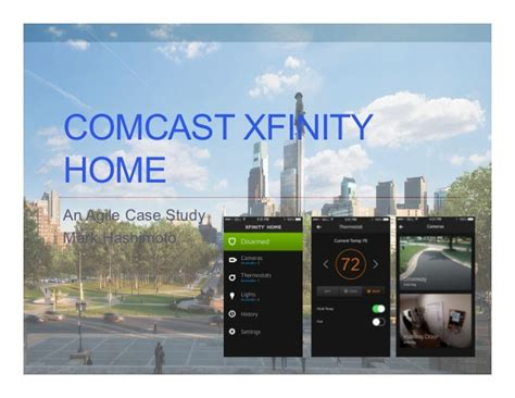 comcast xfinity home an agile study
