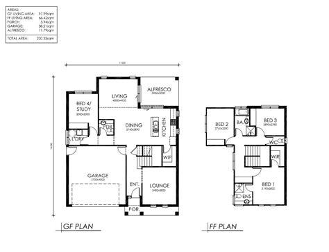 2 story farmhouse floor plans