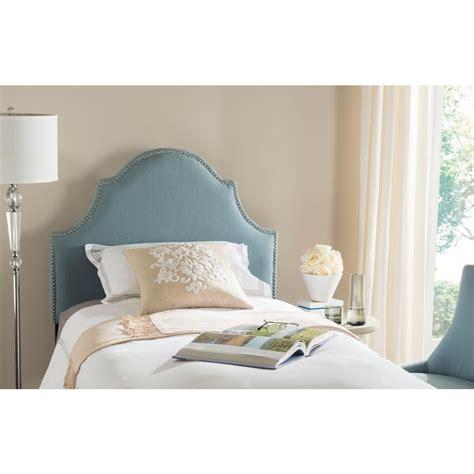 blue queen headboard safavieh axel wedgwood blue queen headboard mcr4682a the