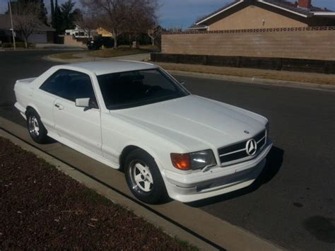 mercedes 1983 500 sec amg model w126 coupe for sale