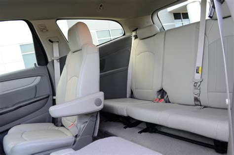 chevy traverse third row seating 2013 chevrolet traverse 3rd row seats