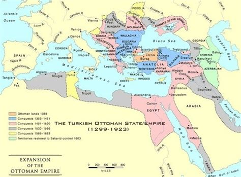Former Ottoman Empire Why Is Africa Clubbed With Middle East Quora