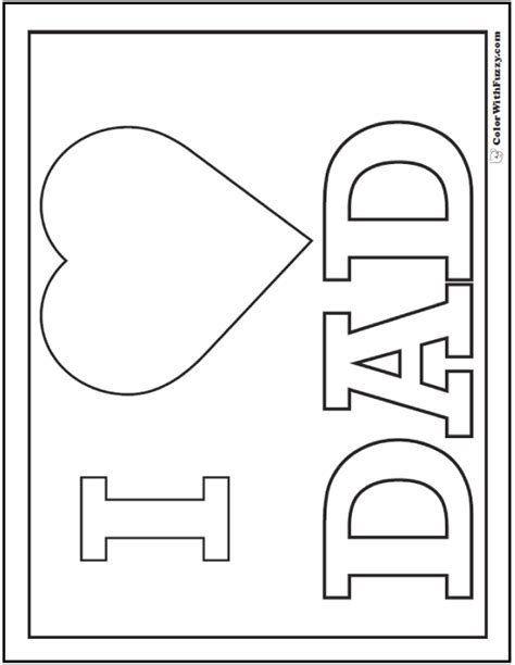 coloring pages for your dad 35 fathers day coloring pages print and customize for dad