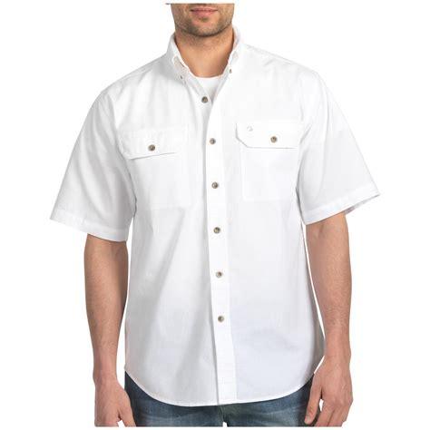 White Shirt Sleeve by 2 Pk Carhartt 174 Chambray Sleeve Work Shirt White 293405 Shirts Polos At