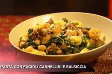 cucina con buddy ricette ricetta pasta con salsiccia e fagioli cannellini cucina