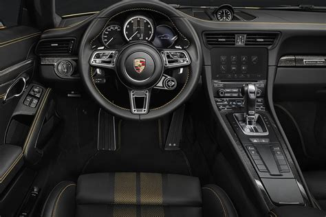 porsche 911 turbo s interior the 2018 porsche 911 turbo s exclusive series with