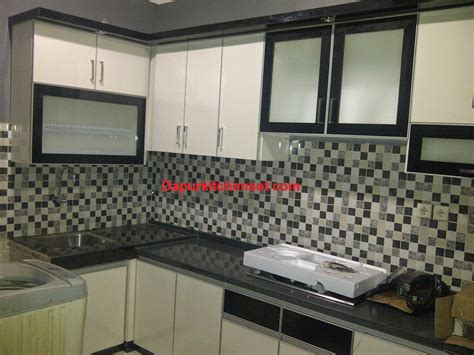 Berapa Pinset jasa kitchen set harga kitchen set per meter murah