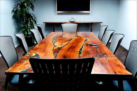 Big Meeting Table Conference Tables Gallery Lone Buffalo Studio Furniture For The Discriminating Collector