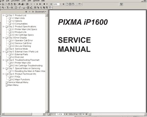 reset manual tx121 canon ip1600 printer service manual service manuals
