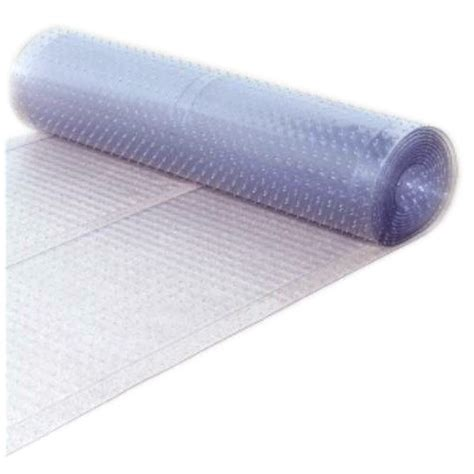 clear plastic rug protector berrnour home multi grip clear ribbed runner rug plastic carpet protector mat ebay