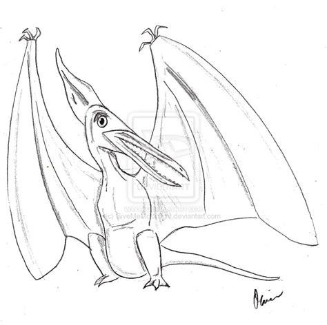Pterodactyl Coloring Pages Coloring Pages Pterodactyl Coloring Pages