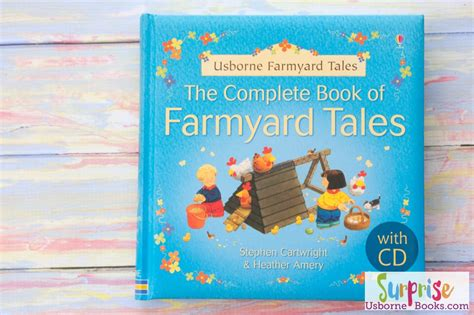the usborne book of shop for the complete book of farmyard tales with cd surprise usborne book