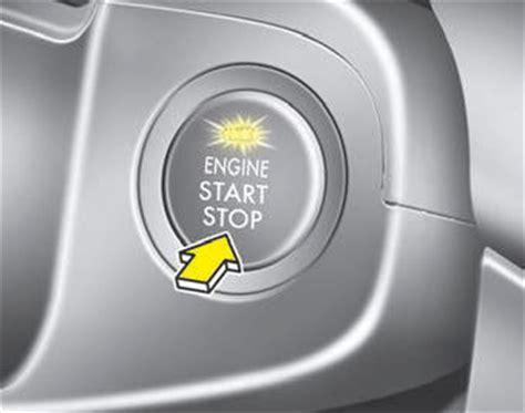 Kia Stop Start Engine Start Stop Button Driving Your Vehicle Kia