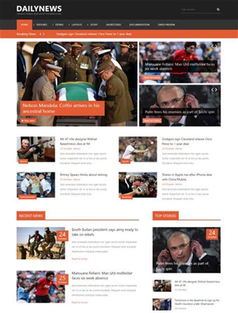 yj dailynews joomla 2 5 3 2 news template joomla