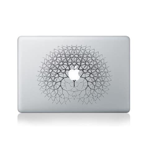 Wall Art Stickers For Bathroom fractal tree vinyl sticker for macbook 13 15 vinyl