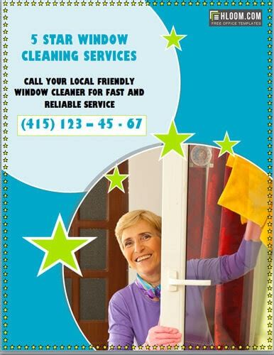 house window cleaning services 14 free cleaning flyer templates house or business