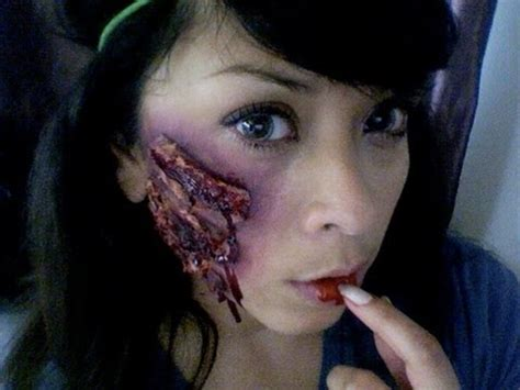 zombie scar tutorial diy bloody scar makeup tutorial for halloween youtube