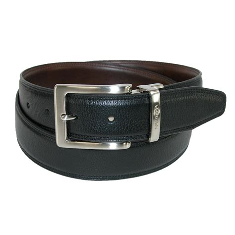 mens reversible feather edge padded belt by
