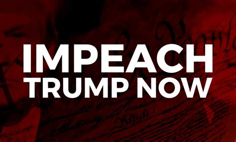 donald trump news now impeach donald trump now