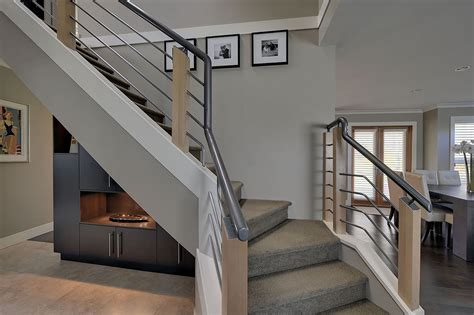 contemporary banisters and handrails modern stair railing staircase contemporary with open
