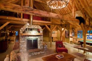 American Furniture Warehouse Sofas Montana Lodge Themed Barn Home Traditional Living Room