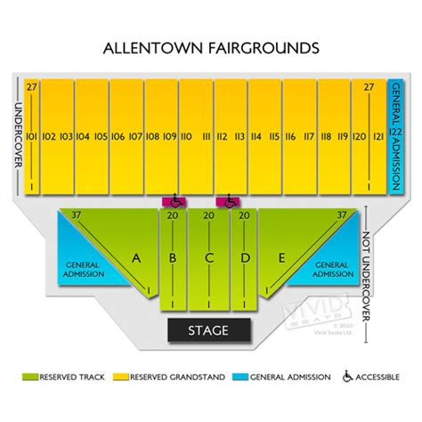 allentown fairgrounds seating chart allentown fairgrounds tickets allentown fairgrounds