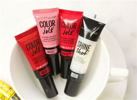 maybelline color jolt shiny 5 things that i m loving from maybelline fall nail that