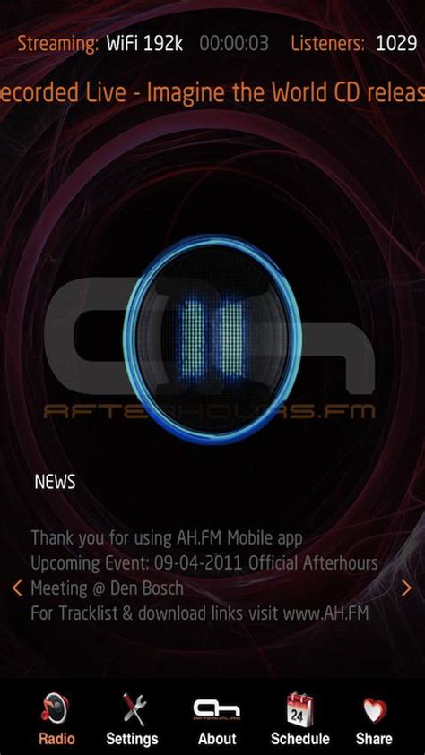 music trance live internet trance music radio android apps on google play