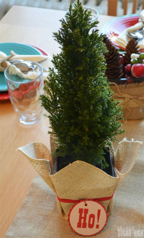 proflowers christmas tree a simple and casual tablescape pfdecorates oh my sugar high
