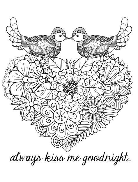 free coloring page 171 coloring anti stress flowers 187 adult les 141 meilleures images du tableau hearts to color sur