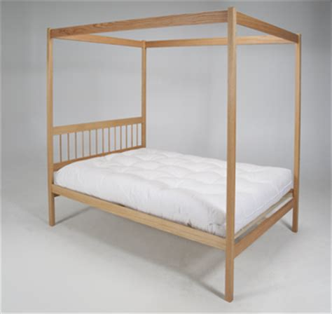Four Poster Canopy Bed Frame Wooden Four Poster Bed Wood Canopy Bed