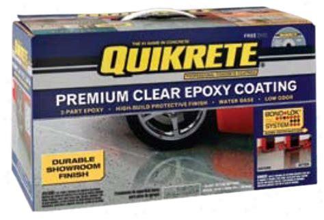 Epoxy Garage Floor: Clear Coat Over Epoxy Garage Floor
