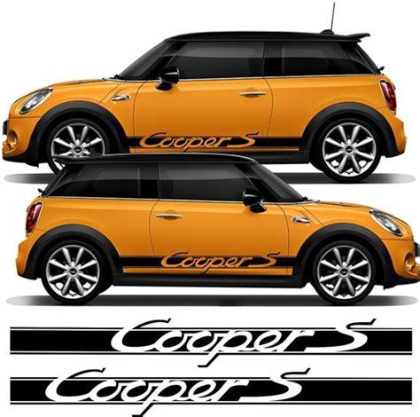 zen graphics mini cooper  mk side stripes decals